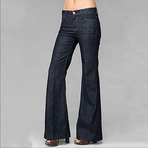 7 For All Mankind Ginger Wide Flare Jeans